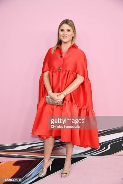 Jenna Bush attends the CFDA Fashion Awards at the Brooklyn Museum of Art on June 03 2019 in New York City