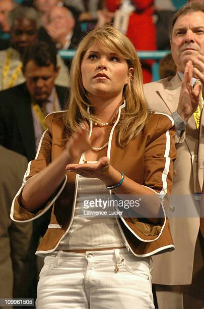 Jenna Bush during 2004 Republican National Convention Day 2 Inside at Madison Square Garden in New York City New York United States