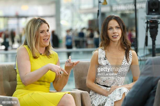 Jenna Bush Hager and Barbara Bush speak during the BookExpo 2017 at Javits Center on June 2 2017 in New York City