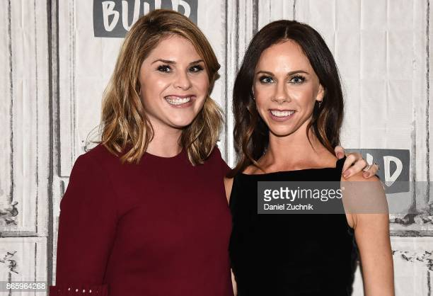 Jenna Bush Hager and Barbara Pierce Bush attend the Build Series to discuss the new book 'Sisters First Stories from Our Wild and Wonderful Life' at...