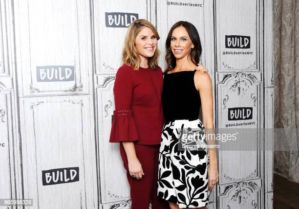 Jenna Bush Hager and Barbara Pierce Bush visit Build to discuss their book 'Sisters First Stories from Our Wild and Wonderful Life' at Build Studio...