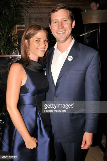 Jenna Bush Hager and Henry Hager attend UNICEF's Next Generation Launch Event at The Gates on July 23 2009 in New York City