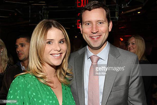Jenna Bush Hager and husband Henry Chase Hager attend A Candid Conversation with Jane Fonda and Andy Cohen on the 40th Anniversary of her Academy...