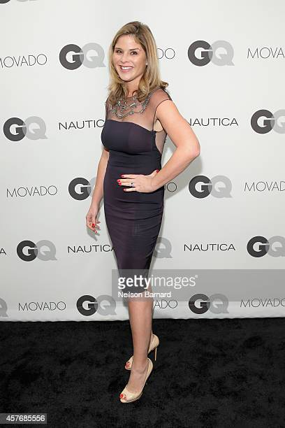 Jenna Bush Hager attends the 2014 GQ Gentlemen's Ball at IAC HQ on October 22 2014 in New York City