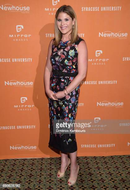 Jenna Bush Hager attends The 2017 Mirror Awards at Cipriani 42nd Street on June 13 2017 in New York City