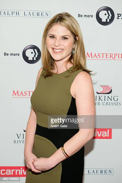 Jenna Bush Hager attends the 'Downton Abbey' season five photo call at Millenium Hotel on December 8 2014 in New York City