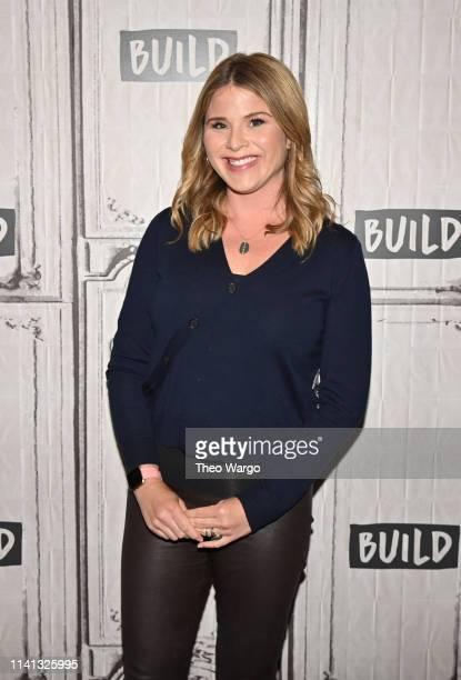 Jenna Bush Hager visits Build at Build Studio on April 08 2019 in New York City