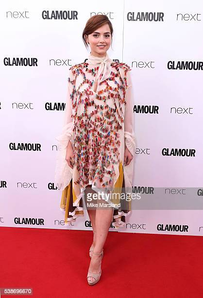 Jenna Coleman arrives for the Glamour Women Of The Year Awards on June 7 2016 in London United Kingdom