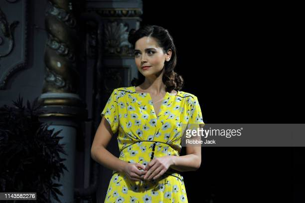 Jenna Coleman as Ann Deever in Arthur Miller's All My Sons directed by Jeremy Herrin at The Old Vic Theatre on April 18 2019 in London England