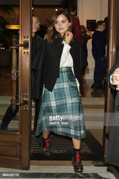Jenna Coleman attending the BAFTA Breakthrough Brits event at Burberry Regent Street on October 25 2017 in London England