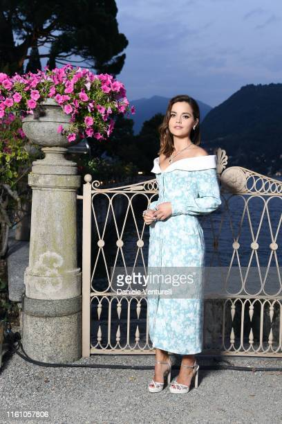 Jenna Coleman attends Bvlgari Splendida Tubereuse Mystique Event on July 09 2019 in Cernobbio Como Lake Italy