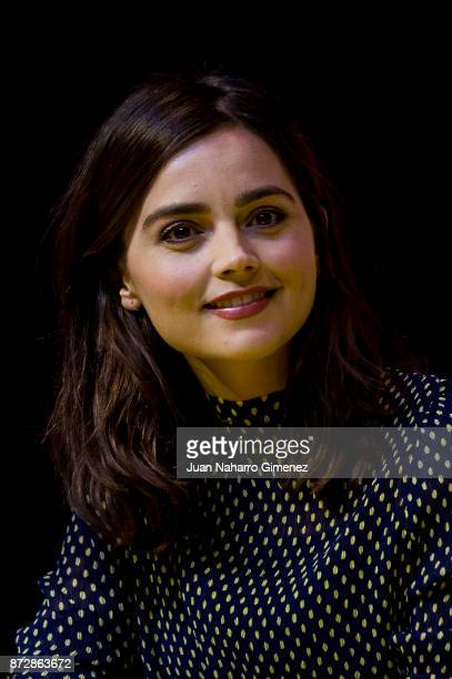 Jenna Coleman attends Heroes Comic Con at IFEMA on November 11, 2017 in Madrid, Spain.
