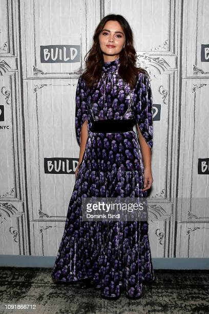 Jenna Coleman attends the Build Series to discuss 'Victoria' at Build Studio on January 09 2019 in New York City