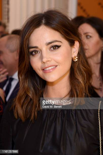 Jenna Coleman attends the Bvlgari Corner Shop Launch at Selfridges on July 10, 2019 in London, England.