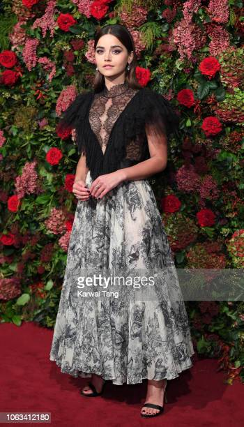 Jenna Coleman attends the Evening Standard Theatre Awards 2018 at Theatre Royal Drury Lane on November 18 2018 in London England