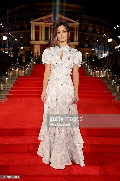 Jenna Coleman attends The Fashion Awards 2016 on December 5 2016 in London United Kingdom