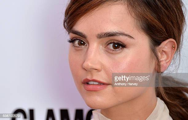 Jenna Coleman attends the Glamour Women Of The Year Awards at Berkeley Square Gardens on June 7 2016 in London England