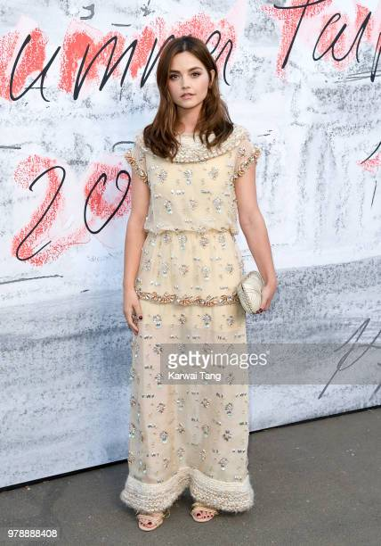 Jenna Coleman attends the Serpentine Gallery Summer Party at The Serpentine Gallery on June 19 2018 in London England