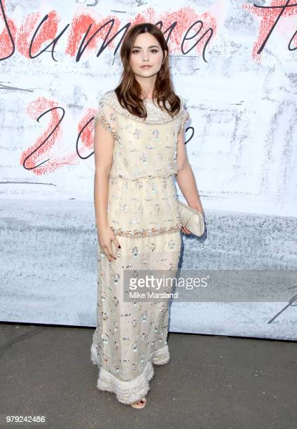Jenna Coleman attends The Serpentine Summer Party at The Serpentine Gallery on June 19 2018 in London England