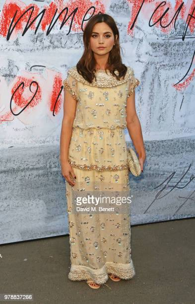 Jenna Coleman attends the Serpentine Summper Party 2018 at The Serpentine Gallery on June 19 2018 in London England