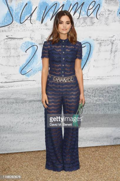 Jenna Coleman attends The Summer Party 2019, presented by Serpentine Galleries & Chanel, and hosted by Michael R. Bloomberg, Hans Ulrich Obrist & Sir...
