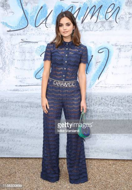 Jenna Coleman attends The Summer Party 2019 Presented By Serpentine Galleries And Chanel at The Serpentine Gallery on June 25 2019 in London England