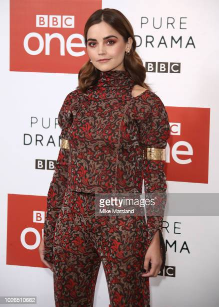 Jenna Coleman during a photocall for new BBC 1 psychological thriller 'The Cry' on September 3 2018 in London United Kingdom
