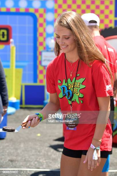 Jenna Compono attends Double Dare presented by Mtn Dew Kickstart at Comedy Central presents Clusterfest on June 3 2018 in San Francisco California