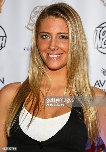 Jenna Compono attends MTV's The Real World ExPlosion Season Premiere Party at Bottomz Up Bar and Grill on January 14 2014 in New York City