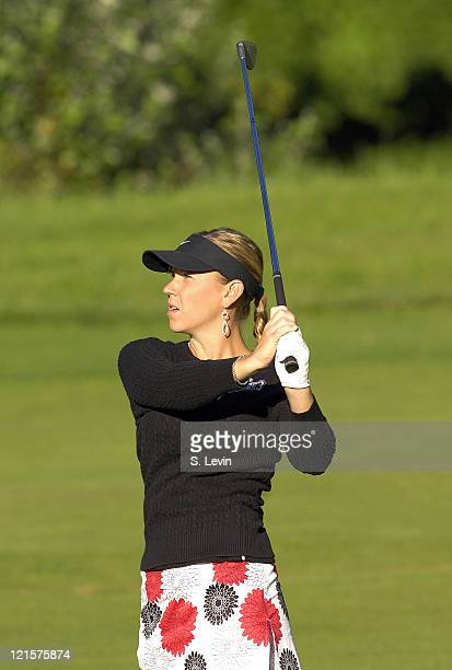 Jenna Daniels during the second round of the Canadian Women's Open at the London Hunt and Country Club in London Ontario on August 11 2006