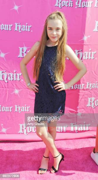 Jenna Davis attends Rock Your Hair Presents 'Rock Your Summer' Party and Concert on June 3 2017 in Los Angeles California