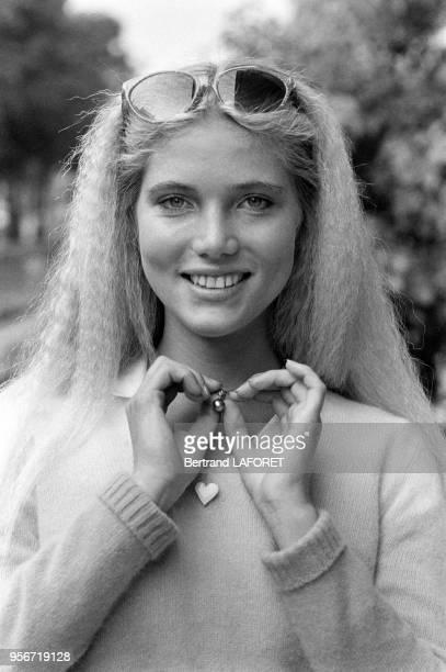 Jenna de Rosnay à Paris en septembre 1980 France