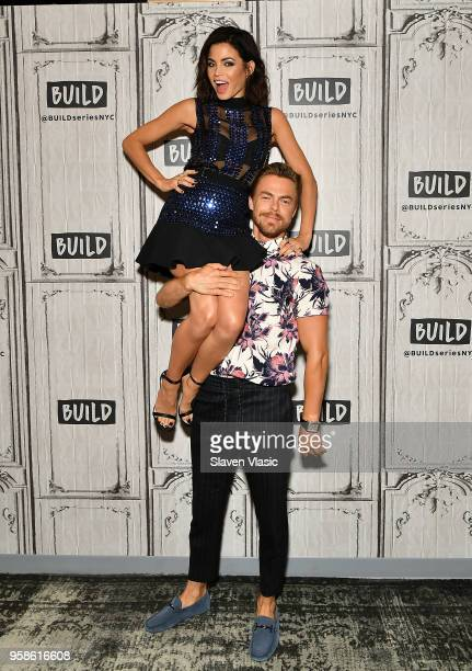 """Jenna Dewan and Derek HoughÊvisit Build Series to discuss Season 2 of """"World of Dance"""" at Build Studio on May 14, 2018 in New York City."""
