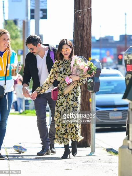 Jenna Dewan and Steve Kazee are seen on January 07 2014 in Los Angeles California