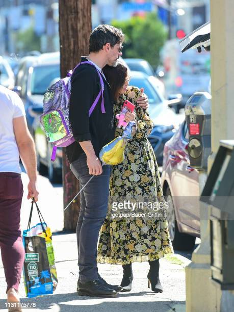 Jenna Dewan and Steve Kazee are seen on March 16 2019 in Los Angeles California