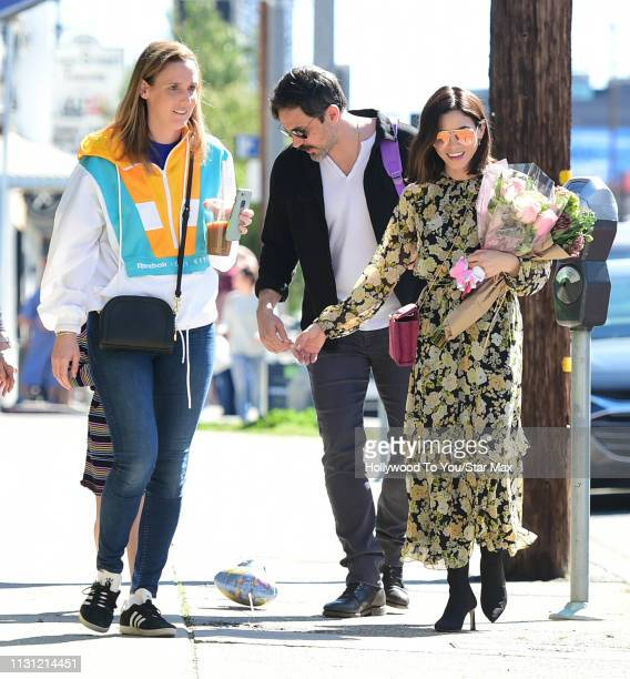 Jenna Dewan and Steve Kazee are seen on March 16 2019 in Los Angeles