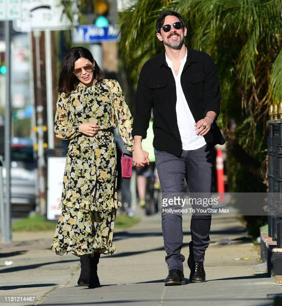 Jenna Dewan and Steve Kazee are seen on March 16, 2019 in Los Angeles.