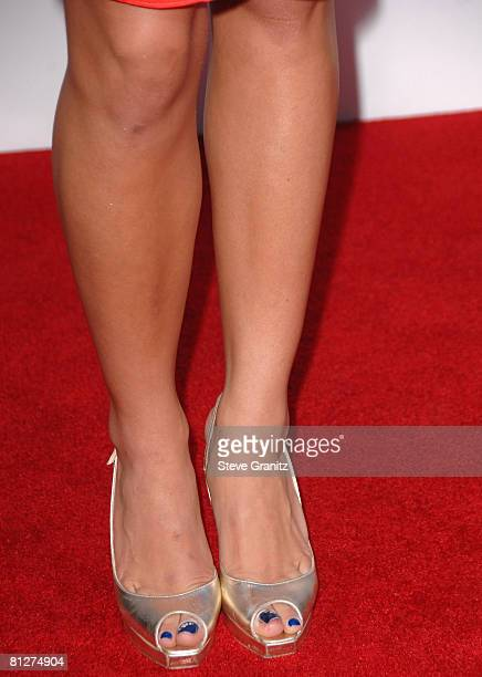 """Jenna Dewan arrives at Sony Pictures Premiere of """"You Don't Mess With the Zohan"""" on May 28, 2008 at the Grauman's Chinese Theatre in Hollywood,..."""