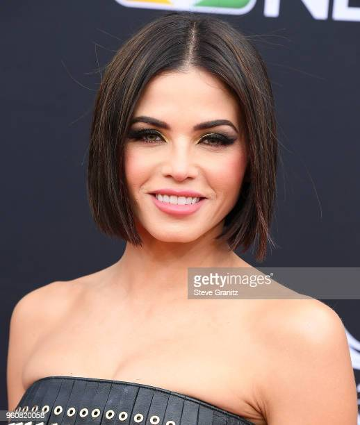 Jenna Dewan arrives at the 2018 Billboard Music Awards at MGM Grand Garden Arena on May 20 2018 in Las Vegas Nevada