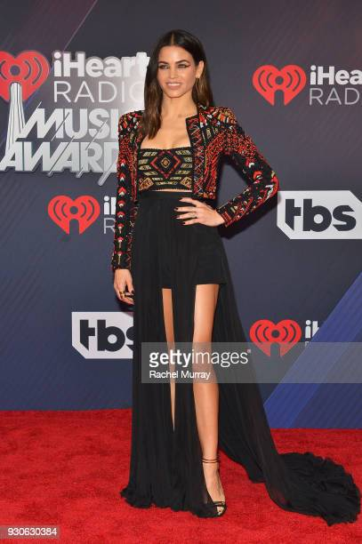 Jenna Dewan arrives at the 2018 iHeartRadio Music Awards which broadcasted live on TBS TNT and truTV at The Forum on March 11 2018 in Inglewood...