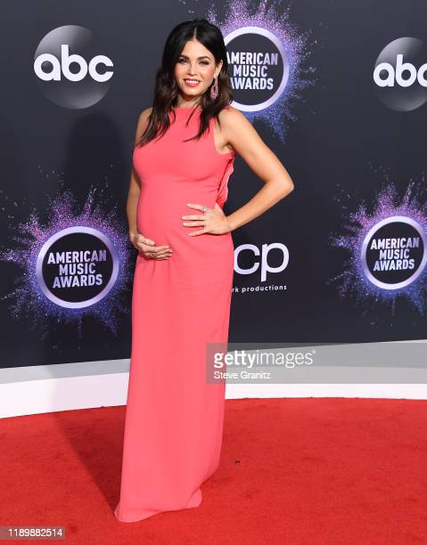 Jenna Dewan arrives at the 2019 American Music Awards at Microsoft Theater on November 24, 2019 in Los Angeles, California.