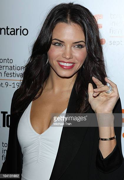 Jenna Dewan arrives at the Black Swan premiere during the 2010 Toronto International Film Festival held at Roy Thompson Hall on September 13 2010 in...