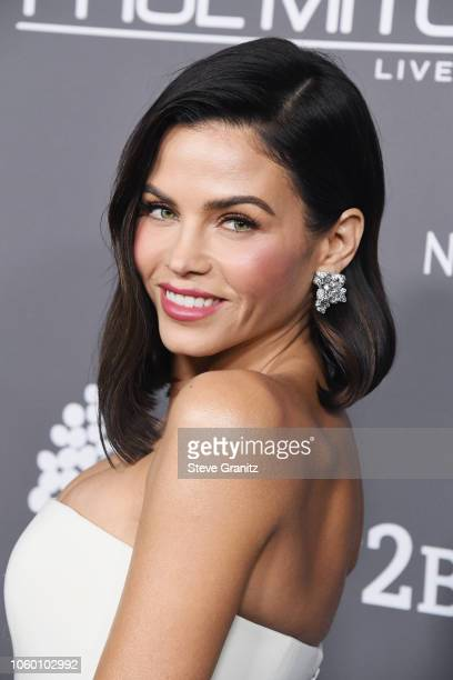 Jenna Dewan attends the 2018 Baby2Baby Gala Presented by Paul Mitchell at 3LABS on November 10, 2018 in Culver City, California.