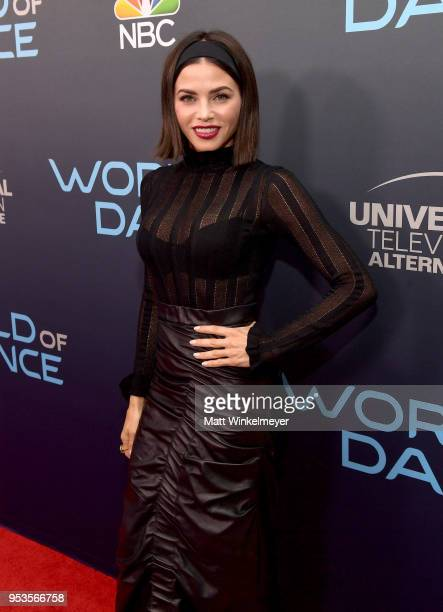 Jenna Dewan attends the FYC event for NBC's World of Dance at Saban Media Center on May 1 2018 in North Hollywood California