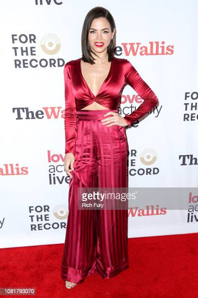 "Jenna Dewan attends the ""Love Actually Live"" opening night reception at Wallis Annenberg Center for the Performing Arts on December 12, 2018 in..."