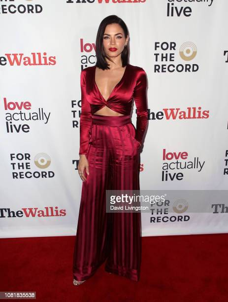 "Jenna Dewan attends the ""Love Actually Live"" opening night reception at the Wallis Annenberg Center for the Performing Arts on December 12, 2018 in..."