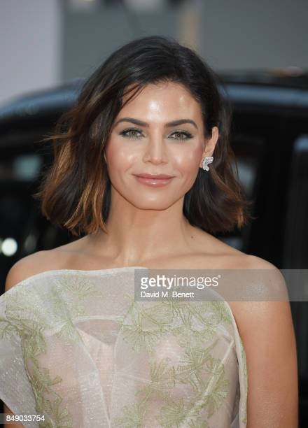 Jenna Dewan attends the World Premiere of 'Kingsman The Golden Circle' at Odeon Leicester Square on September 18 2017 in London England
