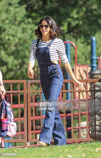 Jenna Dewan is seen on February 12 2016 in Los Angeles California