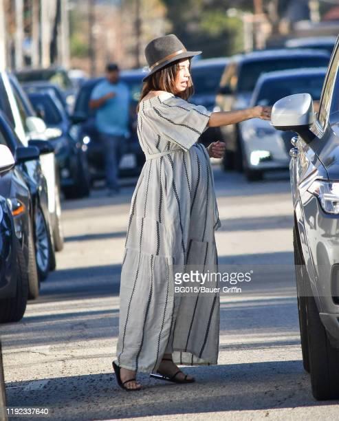 Jenna Dewan is seen on January 06, 2020 in Los Angeles, California.