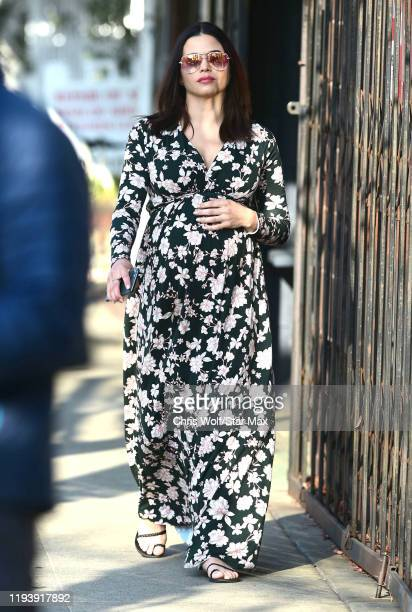 Jenna Dewan is seen on January 15, 2020 in Los Angeles, California.